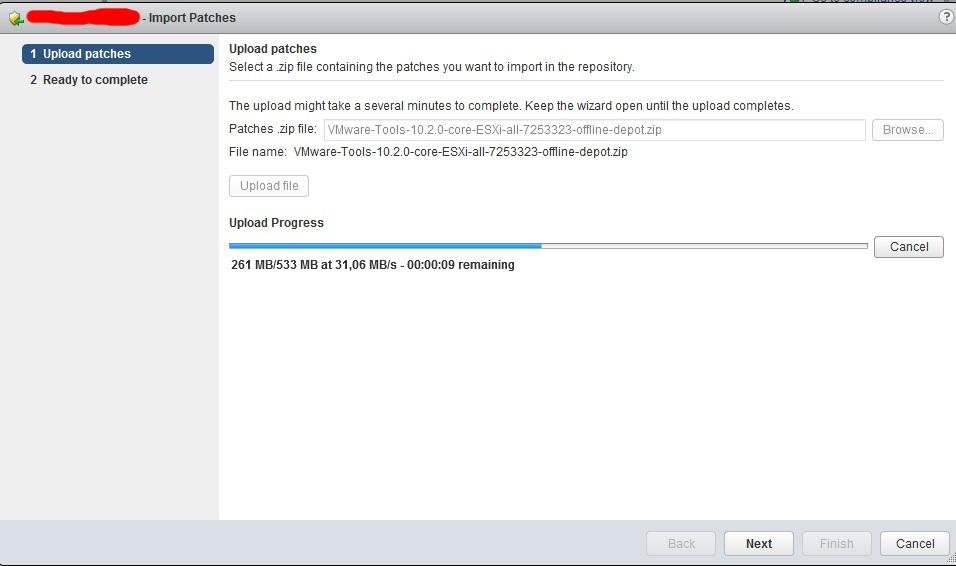 Обновление VMware Tools с использованием VUM (Update Manager) | IT-пилот